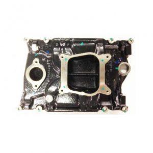 GM Cast Iron 4.3L V6 Marine 4bbl Intake Manifold, Volvo OMC Merc 855806